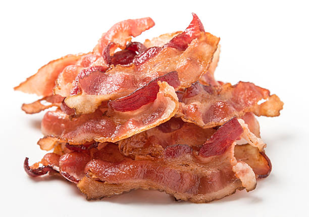 bacon - large group of objects stock photos and pictures