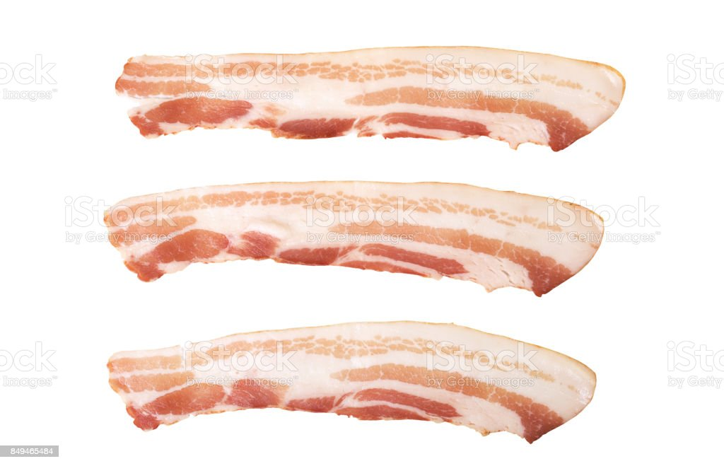 bacon stock photo