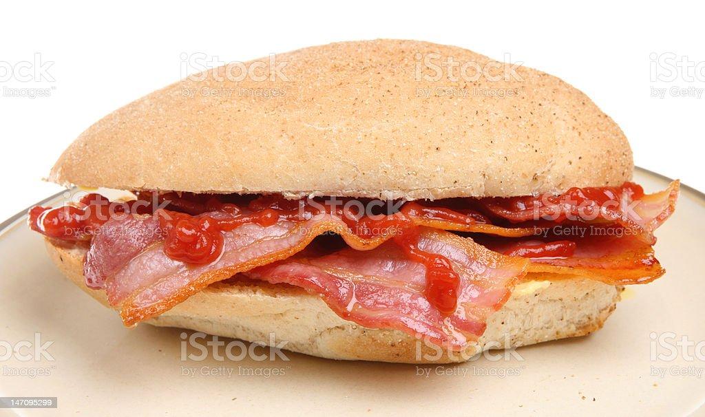 Bacon Roll royalty-free stock photo