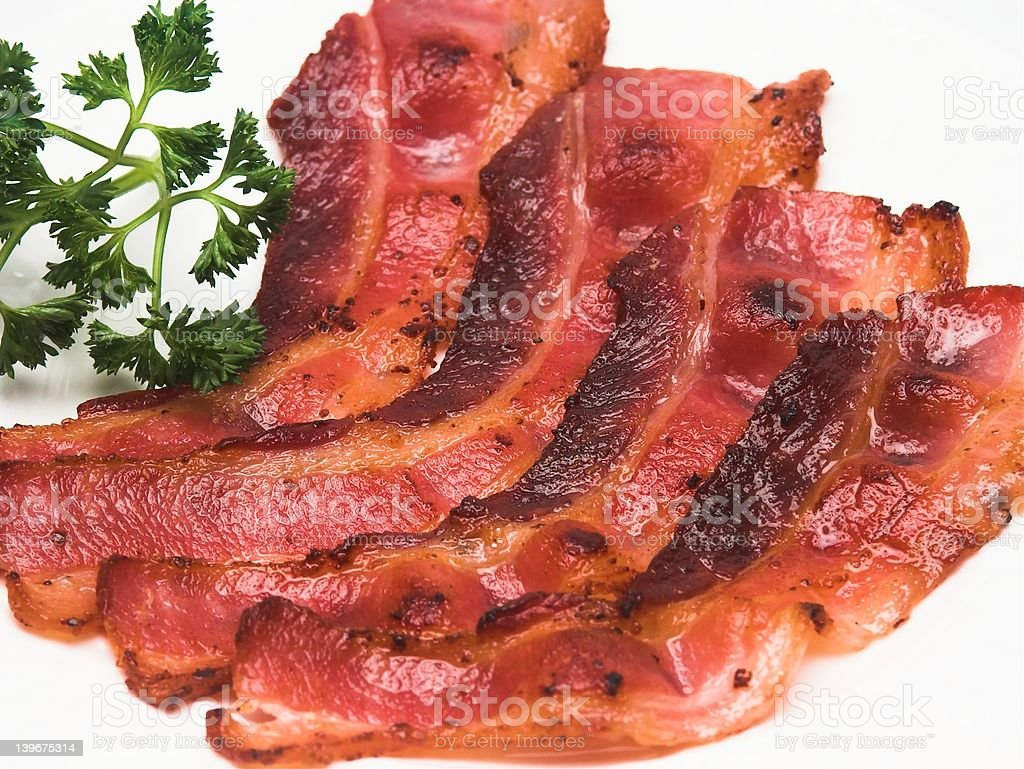 Bacon Strips royalty-free stock photo