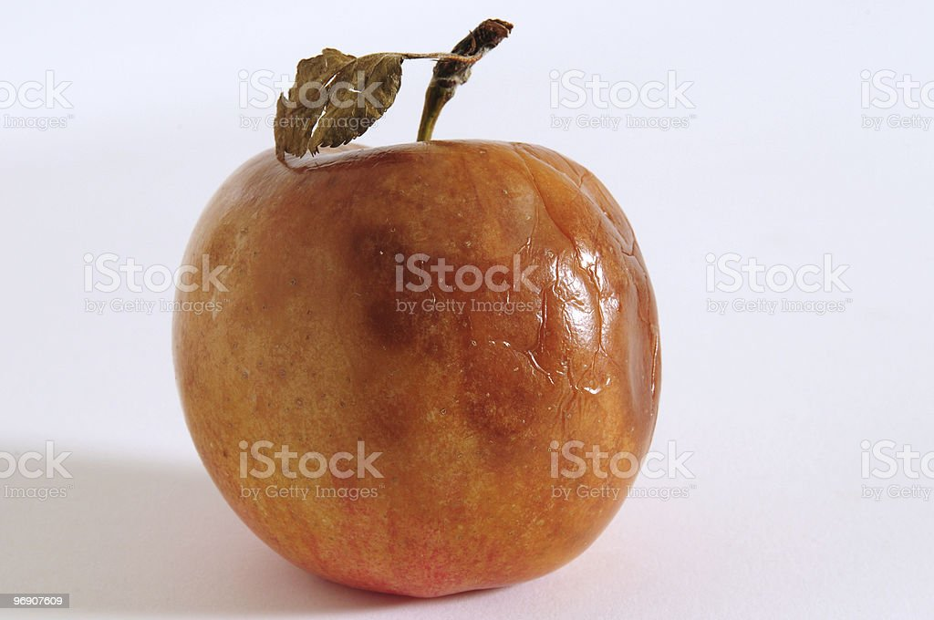 Bad apple. royalty-free stock photo