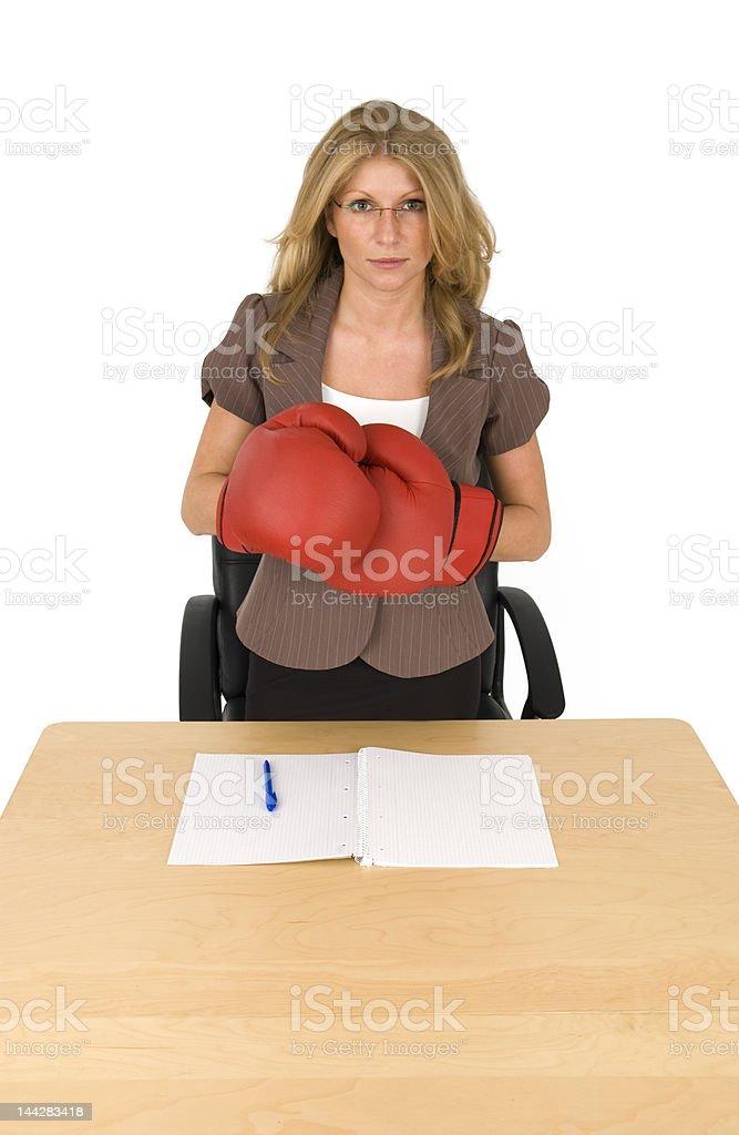 Bad boss. royalty-free stock photo