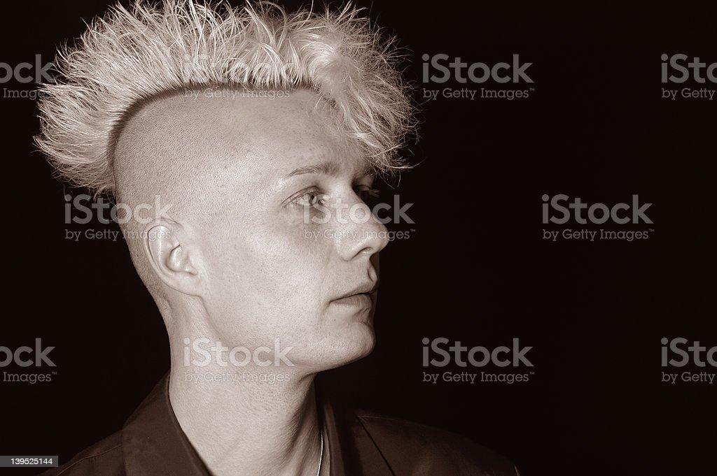 bad boy VI stock photo