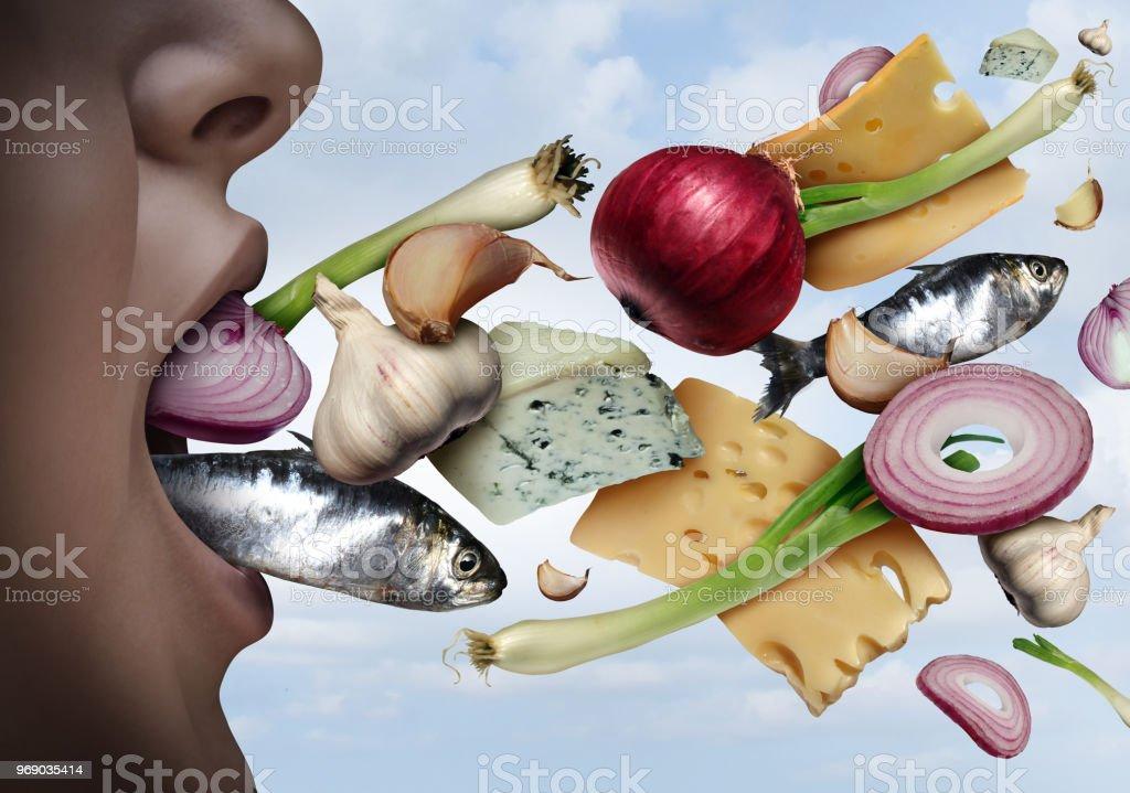 Bad Breath stock photo