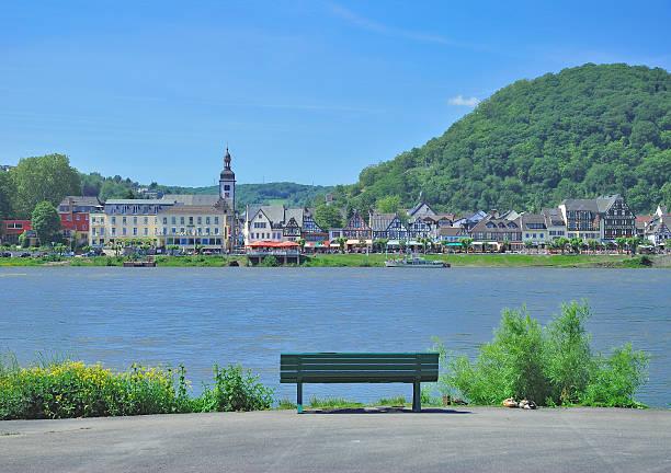 Bad Breisig,Rhine River,Rhineland-Palatinate,Germany – Foto