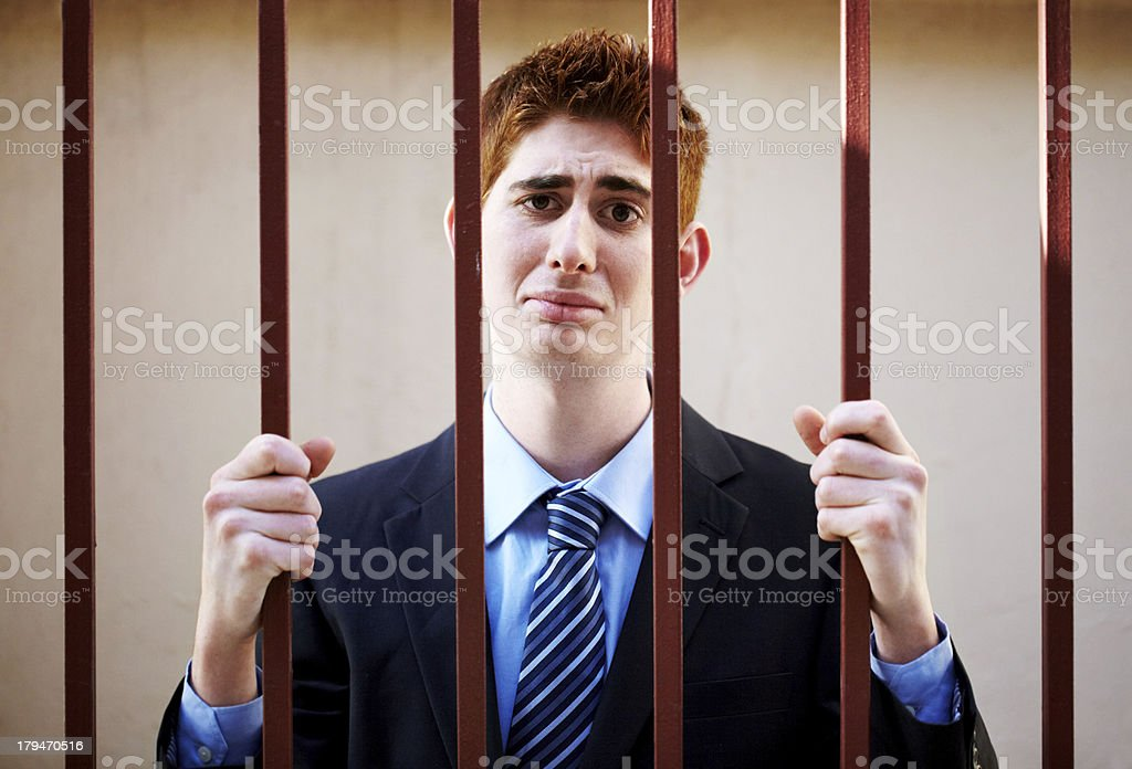 Bad business has it's consequences royalty-free stock photo