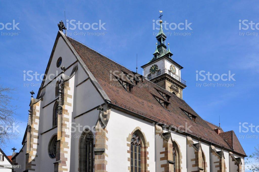 Bad Cannstatt Stadtkirche. Stuttgart, Baden-Württemberg, Deutschland. – Foto