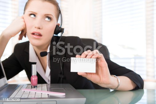 istock Bad customer service 118226239