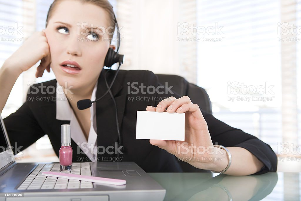 Image result for rude receptionist