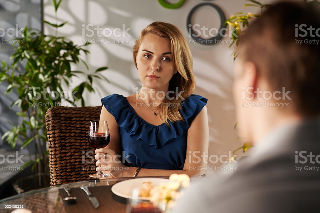 Bad date stock photo