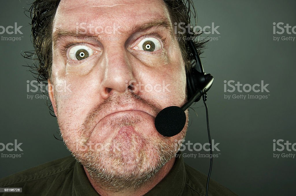 Bad Day At Work? stock photo