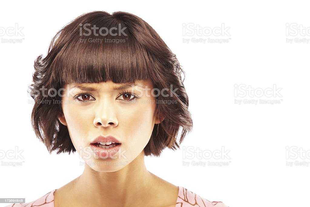 Bad day royalty-free stock photo