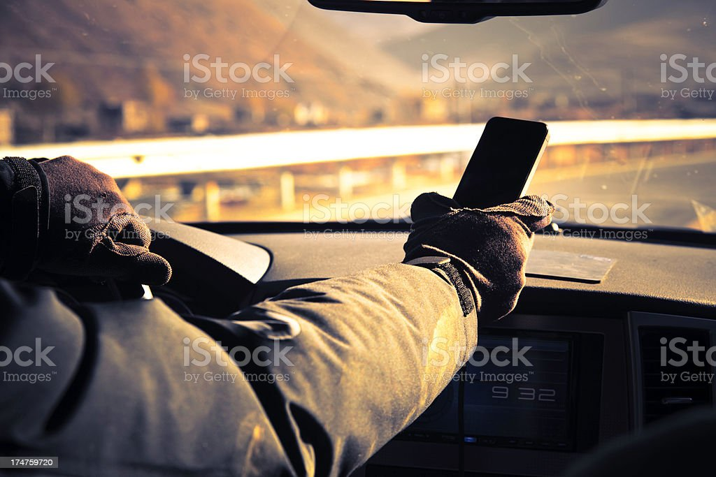 Bad Driving stock photo