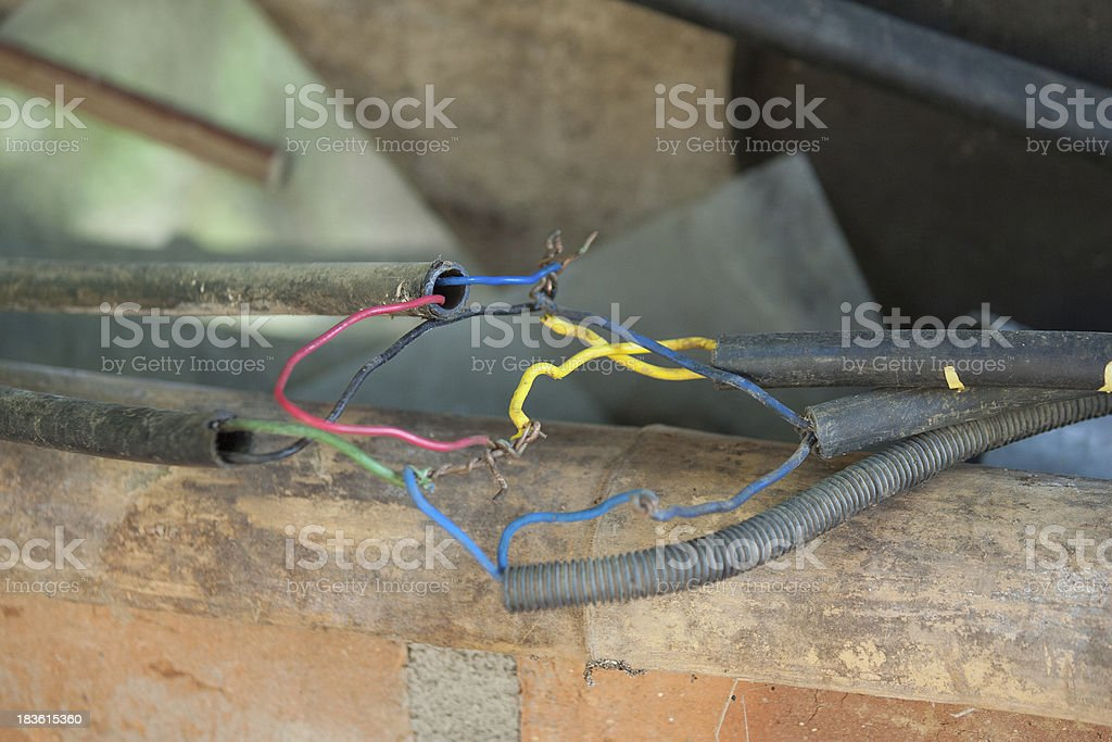Bad Electrical Connections Wiring stock photo | iStock