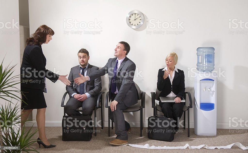 bad first impressions stock photo