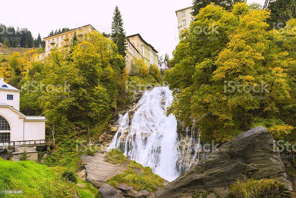 Bad Gastein royalty-free stock photo