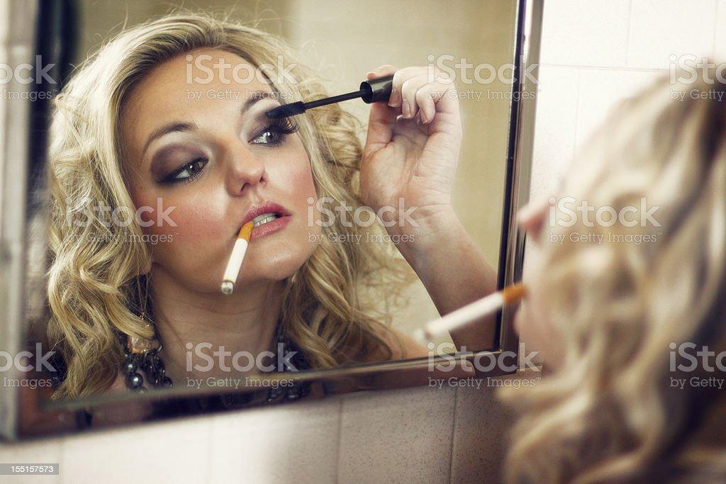 Bad Girl royalty-free stock photo