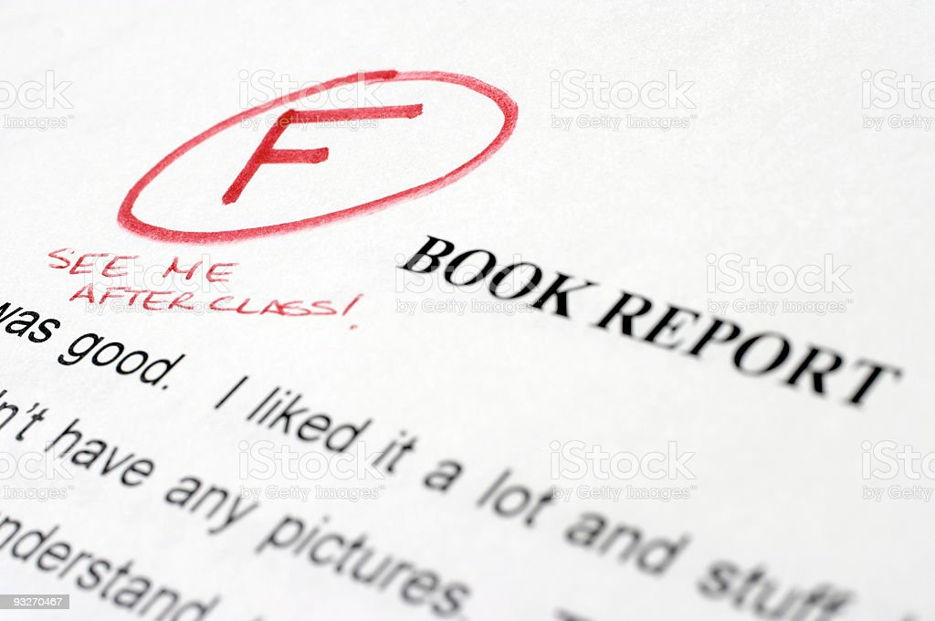 Bad Grades stock photo