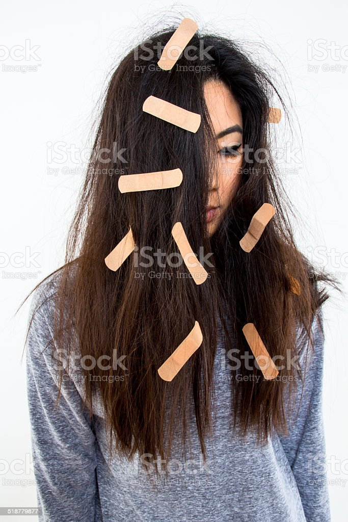 Bad Hair Day Too stock photo