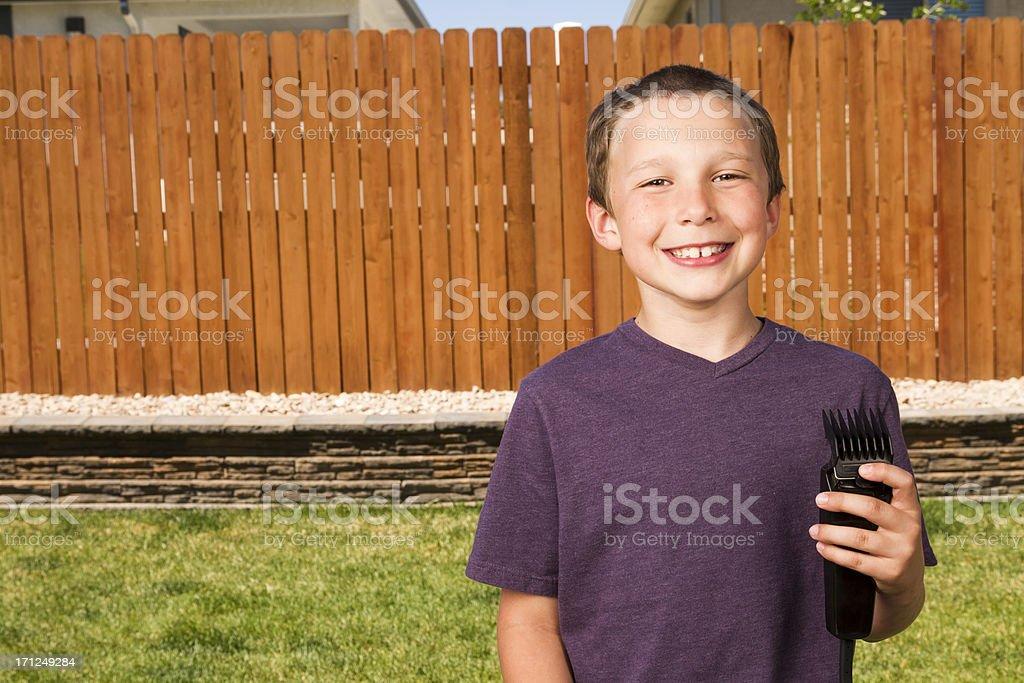 Schlechte Haarschnitt - Lizenzfrei Bizarr Stock-Foto