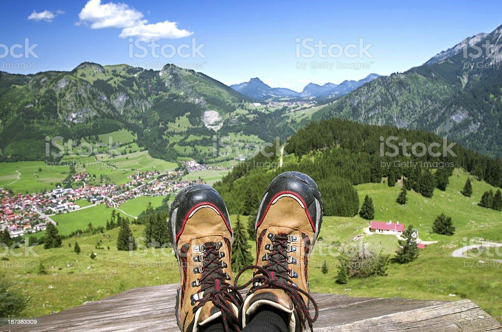 Bad Hindelang Oberjoch stock photo