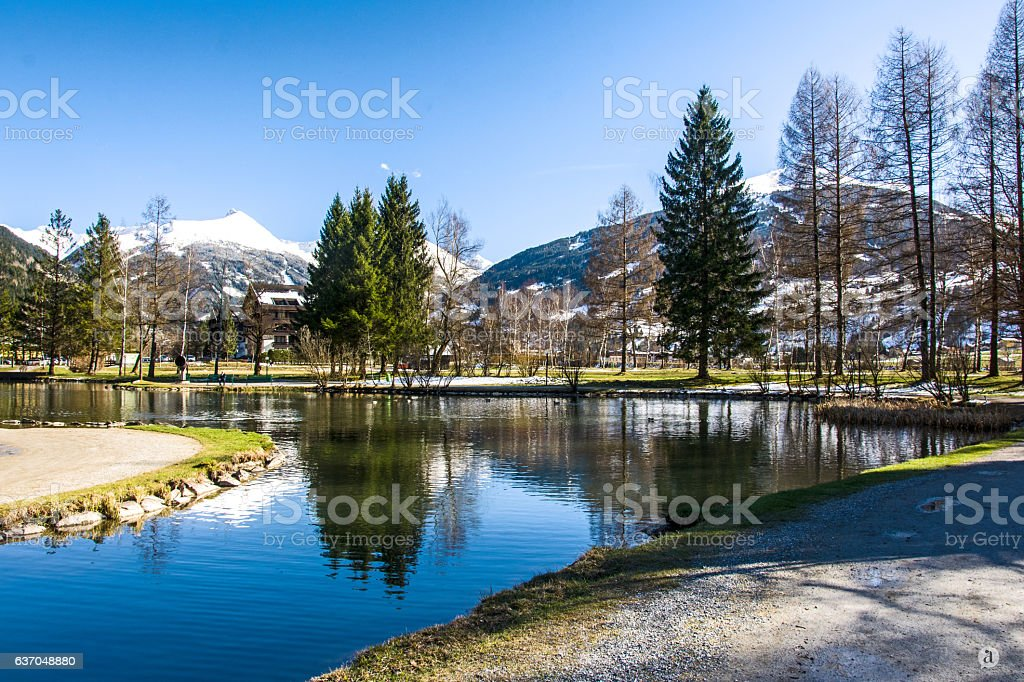 Bad Hofgastein stock photo