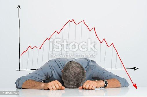 istock Bad investment 518546769