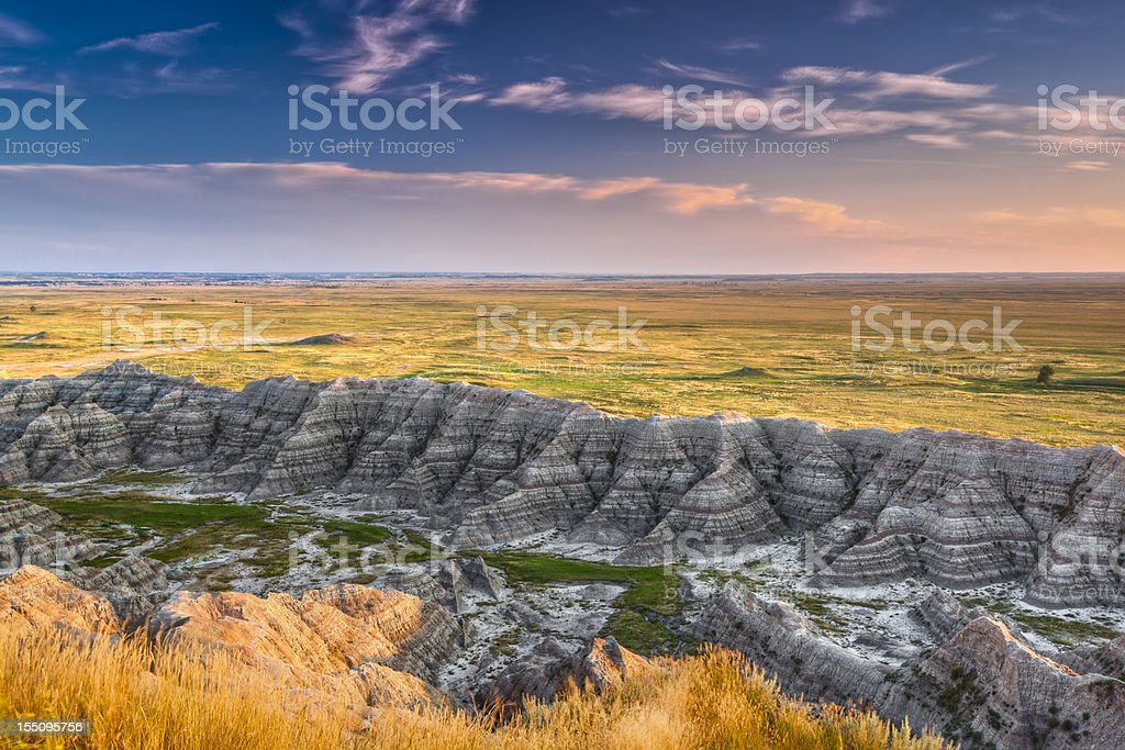 Bad Lands stock photo