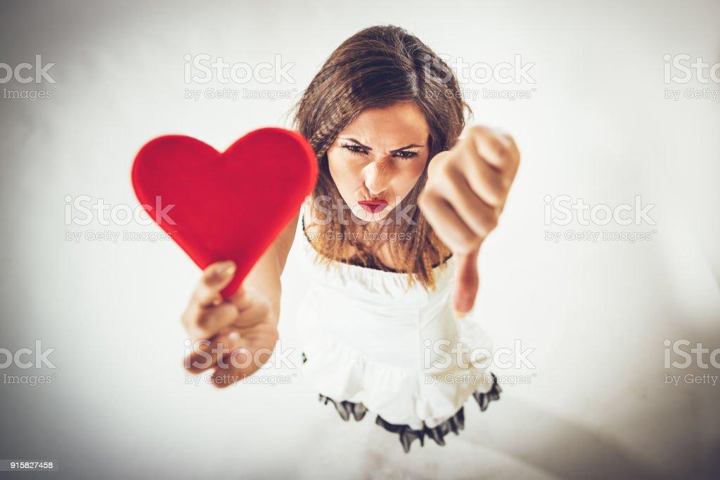 Bad Love stock photo