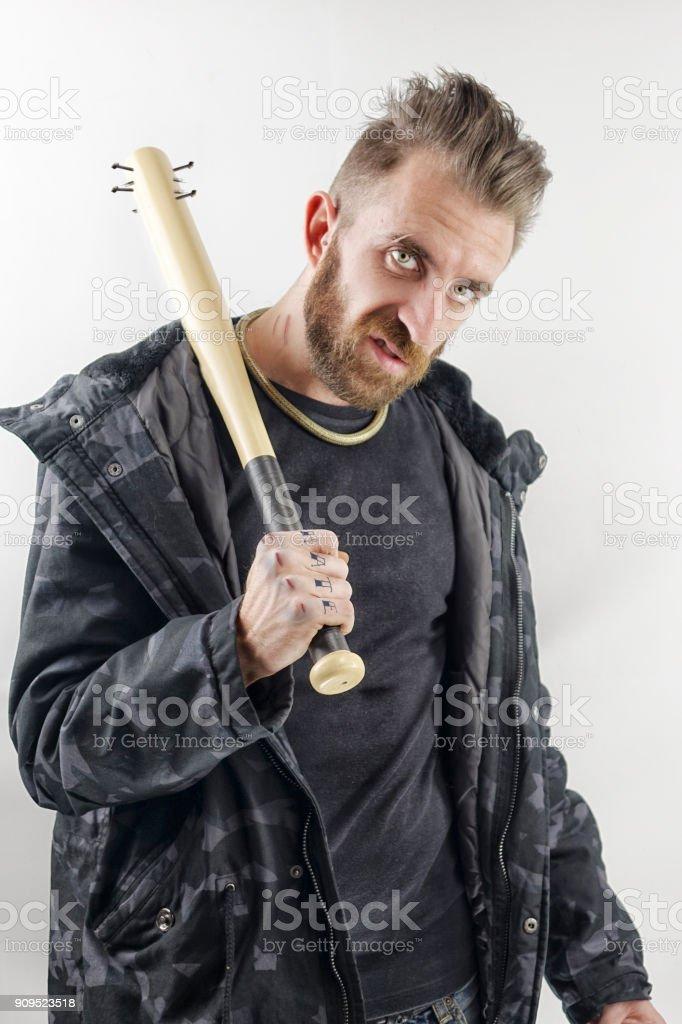 Bad Man stock photo