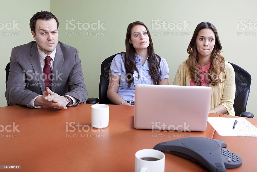 Bad news, layoffs or bankruptcy stock photo