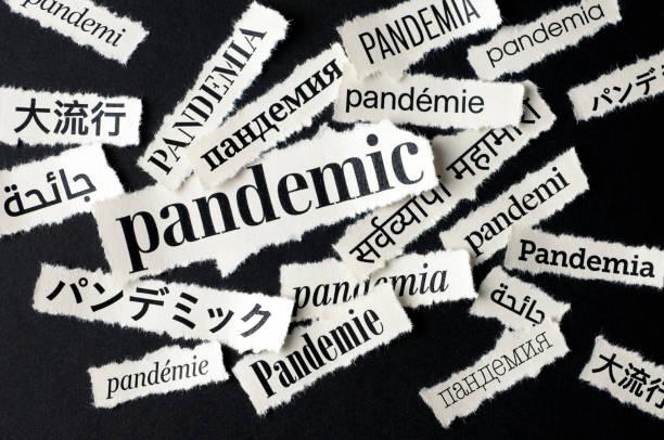 Bad News: Pandemic stock photo