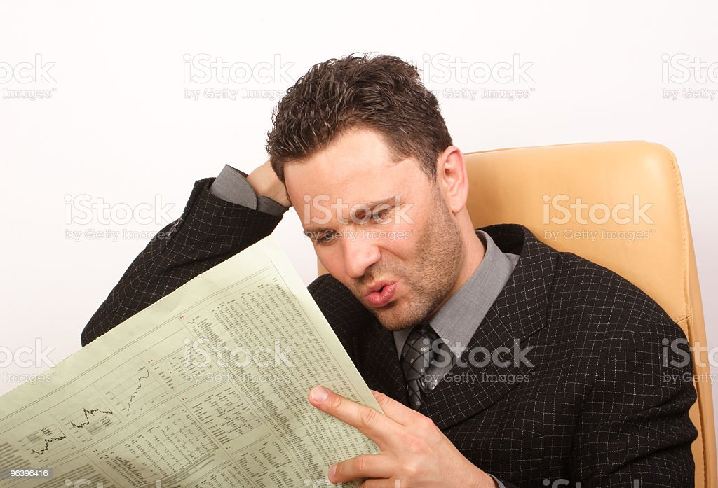 Bad news - Royalty-free Adult Stock Photo