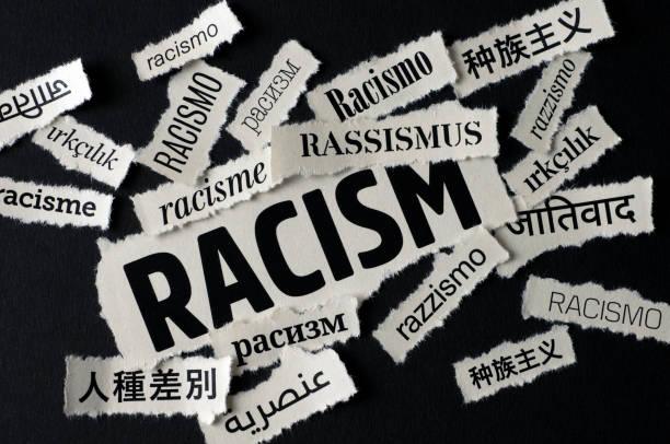 Bad News: Racism stock photo