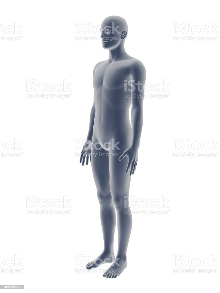 3D male stock photo