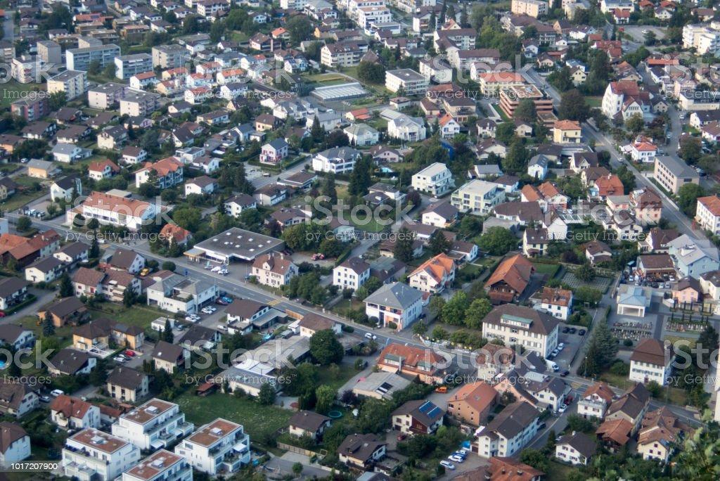Bad Ragaz-Luftbild – Foto