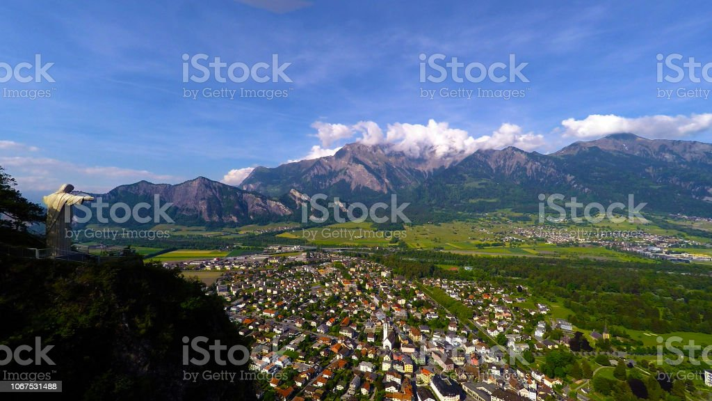 Bad Ragaz Sarganserland schweiz – Foto