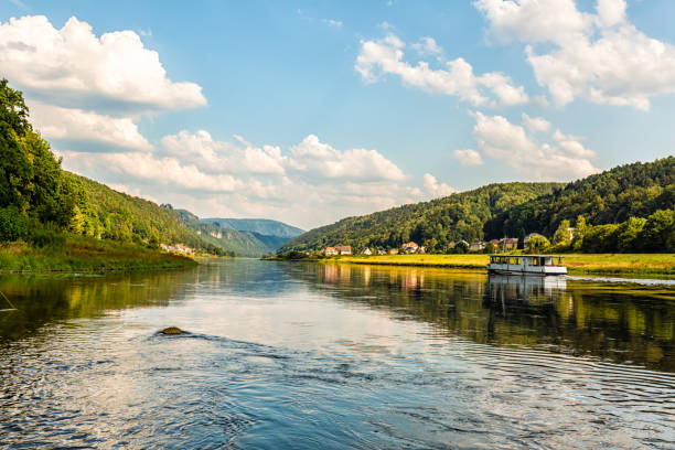 Bad Schandau, close to Elbsandsteingebirge – Foto