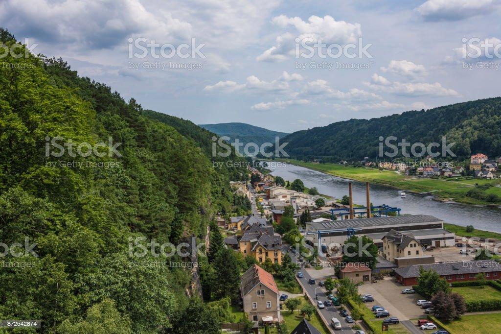 Bad Schandau stock photo