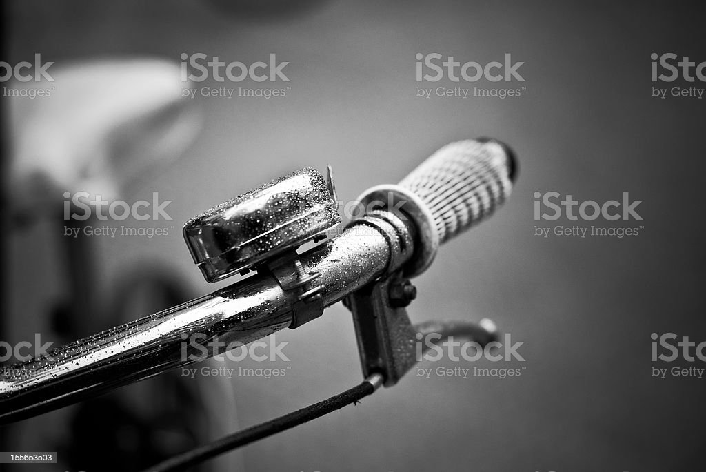 Bad time for bikes stock photo