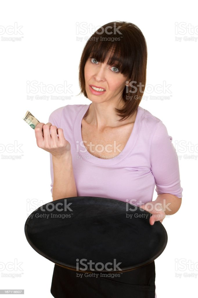 bad tip royalty-free stock photo