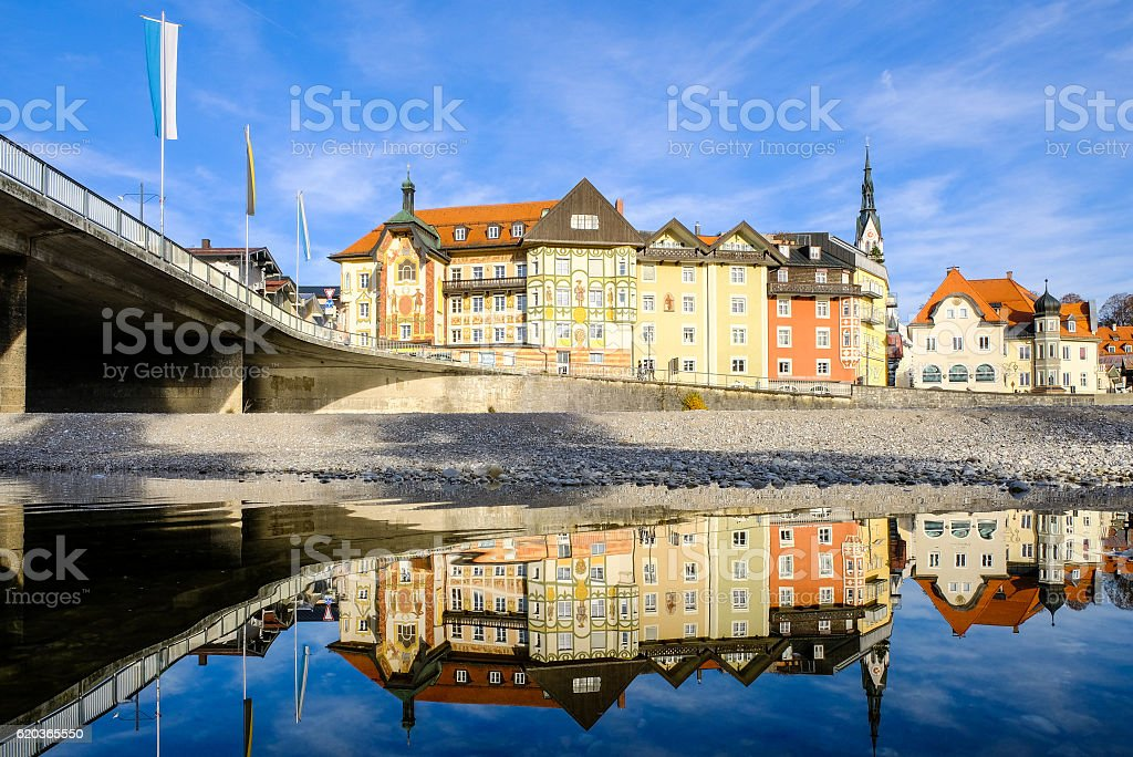 mau Tolz-Baviera foto de stock royalty-free