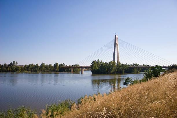 Badajoz y Guadiana al río - foto de stock