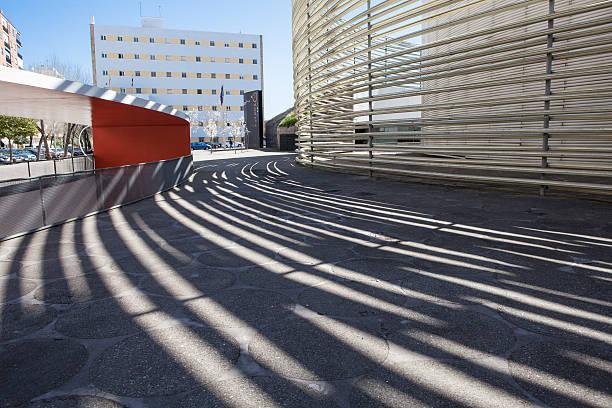 Badajoz edificio del centro de convenciones - foto de stock