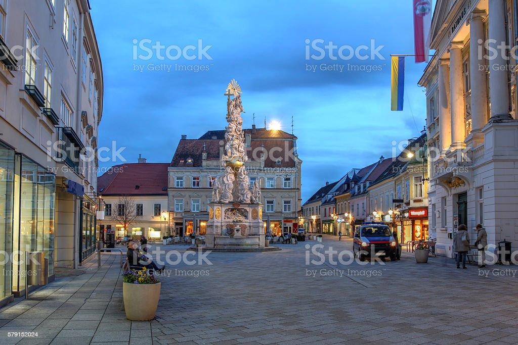 Baden bei Wien, Austria stock photo