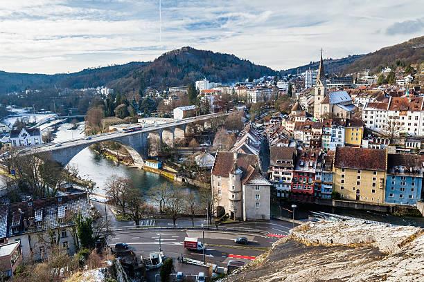 Baden in Kanton von Aargau, Schweiz – Foto