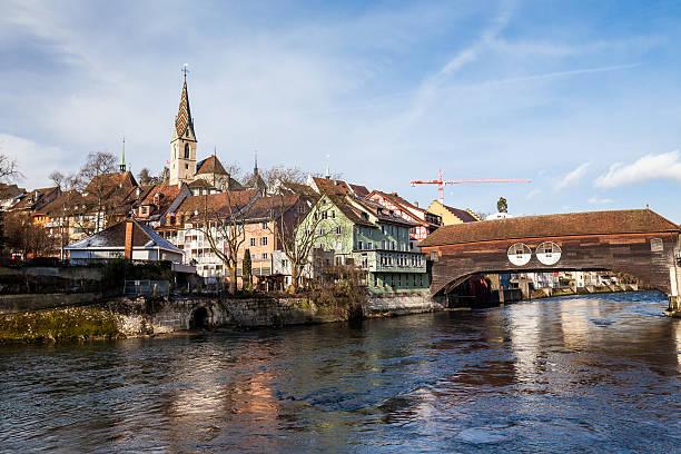 Baden in der Kanton Aargau, Schweiz – Foto