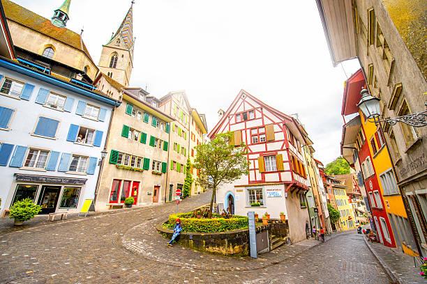 Baden old town in Switzerland – Foto