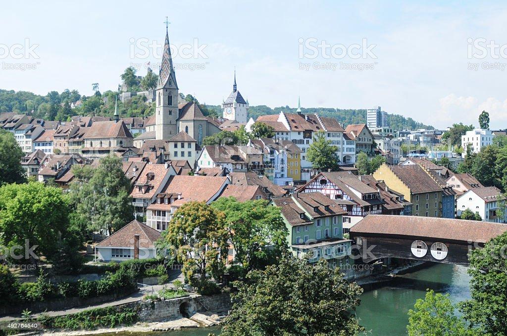 Baden (Switzerland) stock photo
