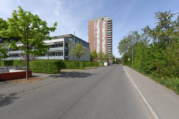 Baden residential Building stock photo
